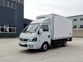 东风途逸国六3米5小型冷藏车厂家配置图片-程力冷藏车厂家