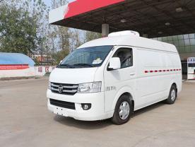 福田G7面包冷藏车厂家配置图片-程力冷藏车厂家