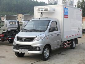 福田V1祥菱2米8冷藏车厂家配置图片-程力冷藏车厂家
