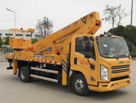 国六江铃25米直臂高空作业车厂家配置图片-程力冷藏车厂家